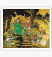 Shang Xi Guan Yu Capturing His Enemy Pang De Sticker