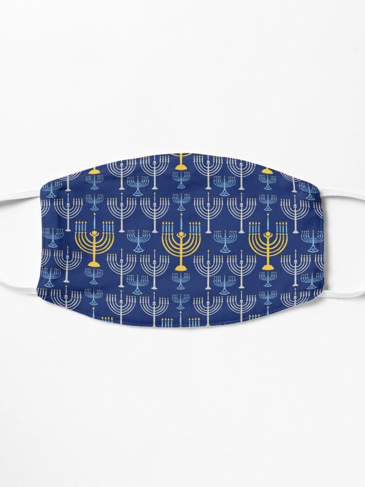 Alternate view of Happy Hanukkah-Menorah Mask