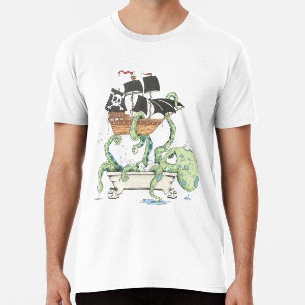 Kraken in the Tub Premium T-Shirt