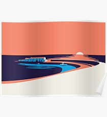 Lyme Regis - The Cobb Poster