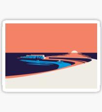 Lyme Regis - The Cobb Sticker