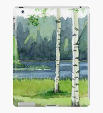 Birch forest iPad Case/Skin