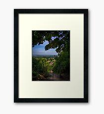 Shaftesbury View Framed Print