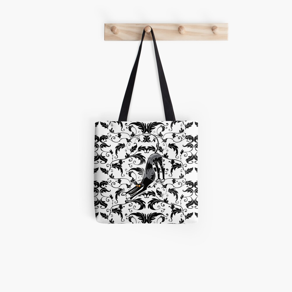 Arts & Crafts Bowdown Hound Tote Bag