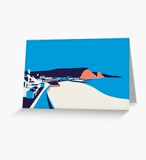 Sidmouth Seascape Greeting Card