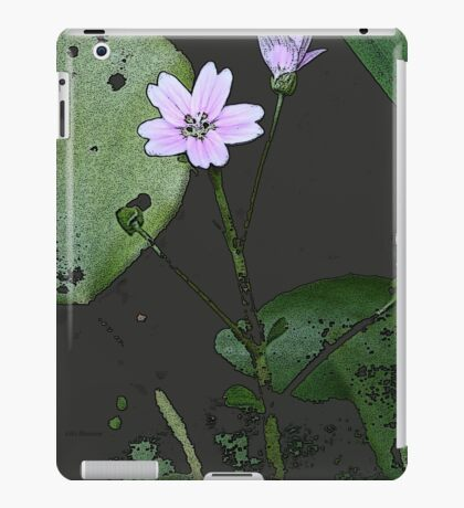 the big PINK FLOWER  iPad Case/Skin