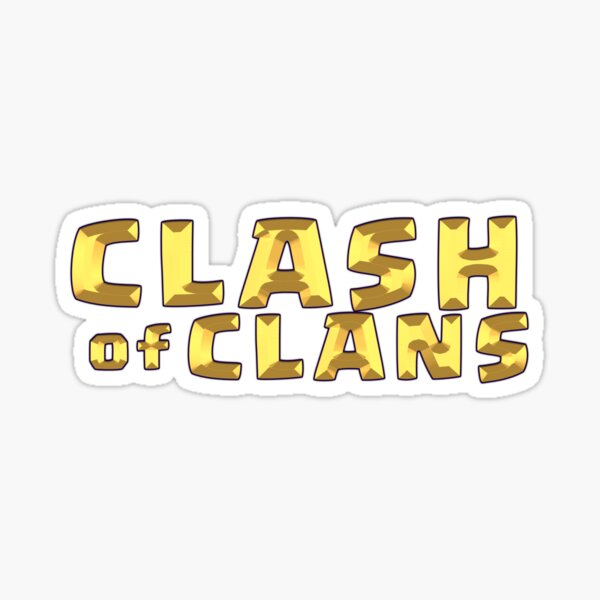 Clash of Clan (COC) Supercell Mobile Gaming (Mobile Game) Sticker