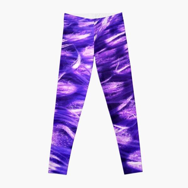 Purple Fuzz Leggings