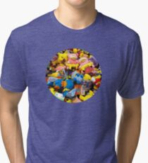 Pokemon plushies  Tri-blend T-Shirt
