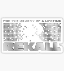 Rekall - Total Recall Sticker