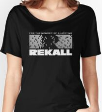 Rekall - Total Recall (White) Women's Relaxed Fit T-Shirt