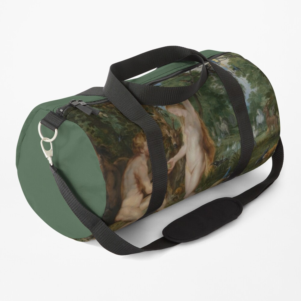 The Garden of Eden with the Fall of Man Duffle Bag