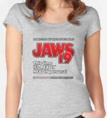 Jaws 19 - This time it's really really personal (Back to the Future) Women's Fitted Scoop T-Shirt