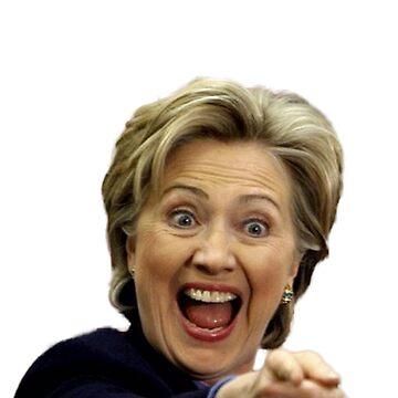 Hillary Clinton by wheresbolivia