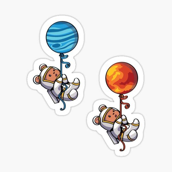 Balloon Bears Sticker