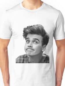 Joe Sugg (Black + White) Unisex T-Shirt
