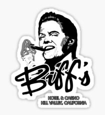 Biff's Hotel and Casino Sticker