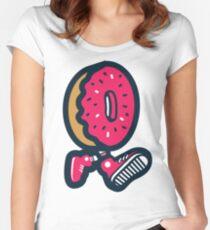 WeeklyDonut's Donut Women's Fitted Scoop T-Shirt