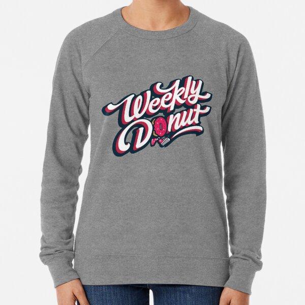 WeeklyDonut Podcast Logo Lightweight Sweatshirt