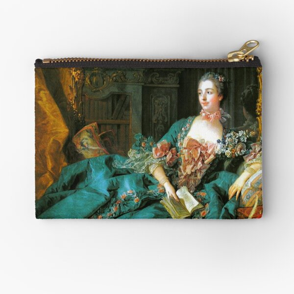 Madame de Pompadour-Francois Boucher Zipper Pouch