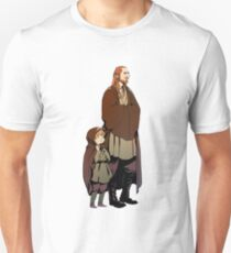 Qui Gon and Padawan Unisex T-Shirt