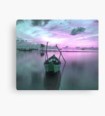 Magenta Sail Canvas Print