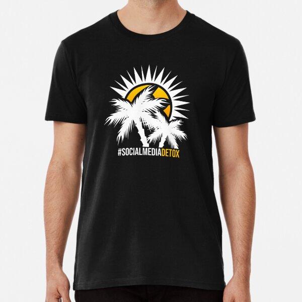 Social Media Detox Premium T-Shirt