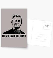 Downton Abbey Donk Robert Crawley Tshirt Postcards