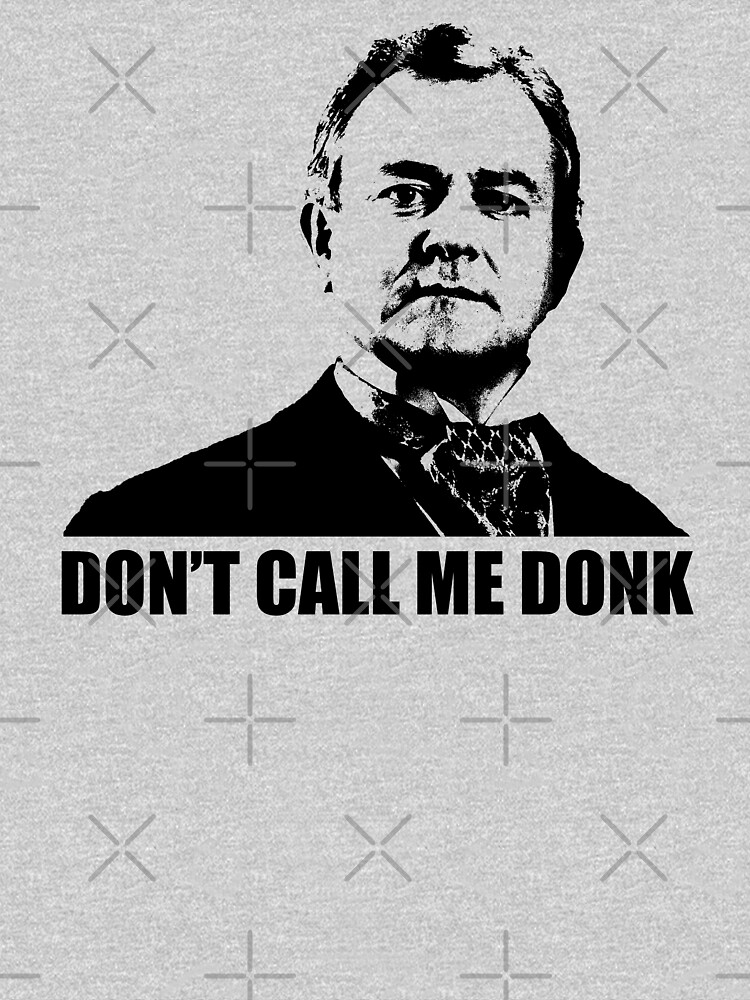 Downton Abbey Donk Robert Crawley Tshirt by theshirtnerd