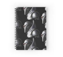 Reimagined Cylon Centurion (Pixelated) Spiral Notebook
