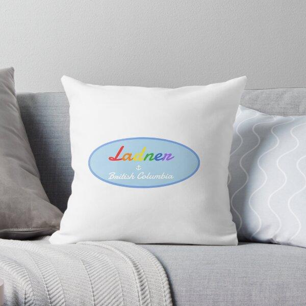 Ladner Pride Throw Pillow