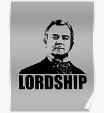 Downton Abbey Lordship Robert Crawley Tshirt Poster