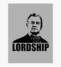 Downton Abbey Lordship Robert Crawley Tshirt Photographic Print