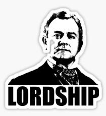 Downton Abbey Lordship Robert Crawley Tshirt Sticker