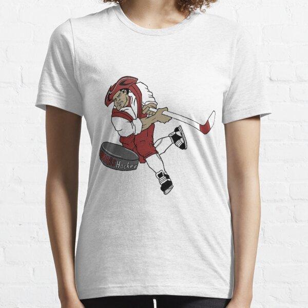 UMass Hockey - Sam the Minuteman Logo Essential T-Shirt