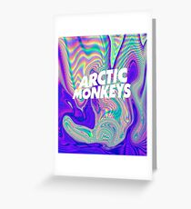 Artic Monkeys iPhone 5/5s Case Greeting Card