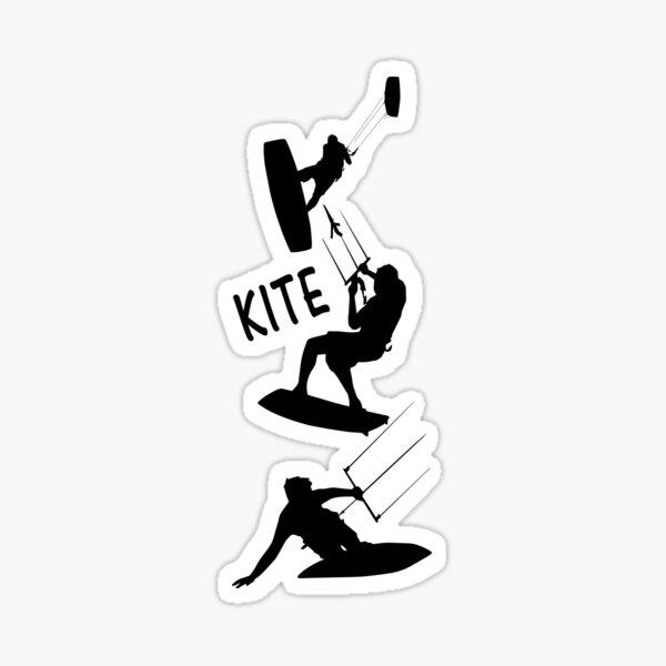 Kite surfer Sticker