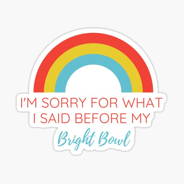im sorry Sticker