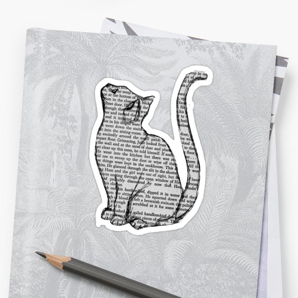 Gatos Pegatina