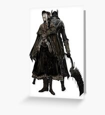 Bloodborne - Doll and Hunter Greeting Card