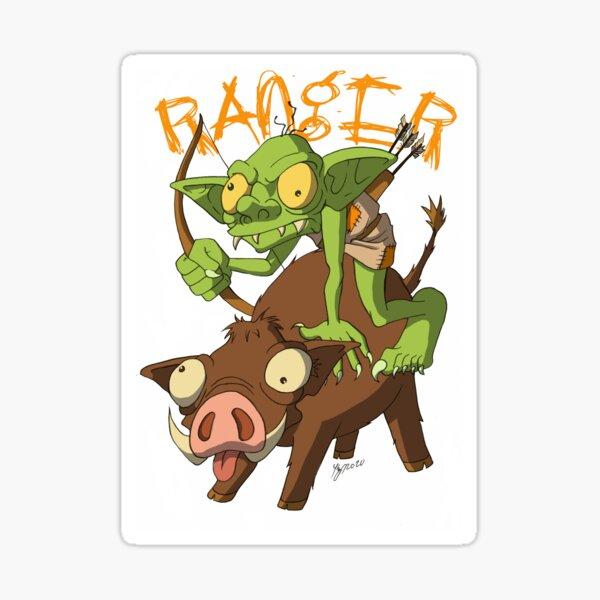 Goblin Ranger Sticker