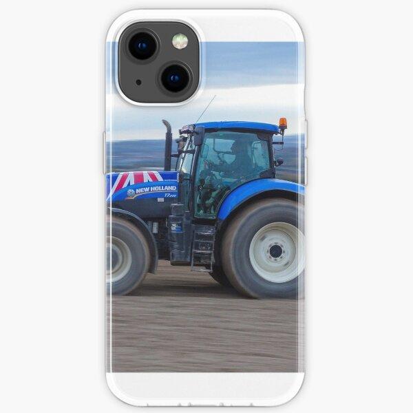 Course de tracteurs New Holland Coque souple iPhone