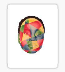 Michonne / Danai Gurira The Walking Dead White Background Sticker