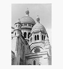Sacre Coeur Black and White Photographic Print