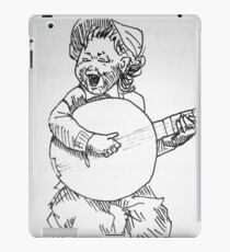 kid making fun iPad Case/Skin