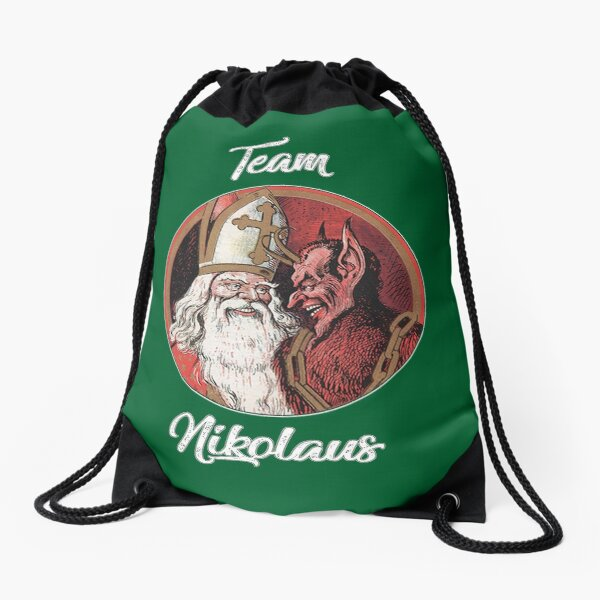 Team Nikolaus Drawstring Bag