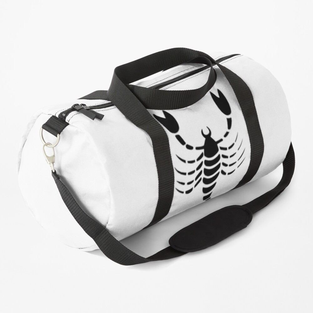 scorpio symbol Duffle Bag