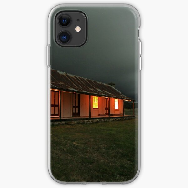 Orroral Valley Homestead, by night iPhone Soft Case