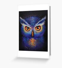 Owl Gallagher  Greeting Card