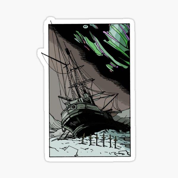 6 of Swords Sticker